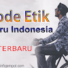 Kode Etik Guru Indonesia Terbaru 2018 (PGRI)-Download Pdf