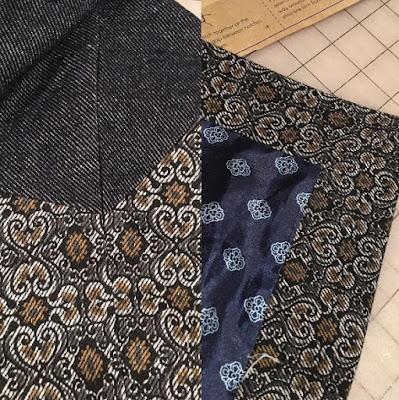Sapporo Coat made with Mood Fabrics - mitered corners