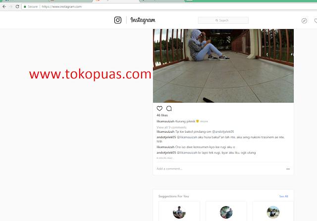 cara upload foto di instagram dengan mudah