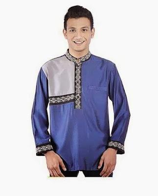 Model Baju Muslim Koko Pria Lengan Panjang Modern Terbaru