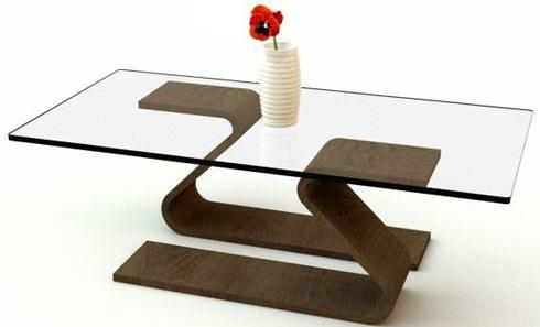 Meja Kaca Minimalis untuk Ruang Tamu