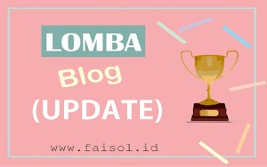 (UPDATE) Lomba Blog April 2018