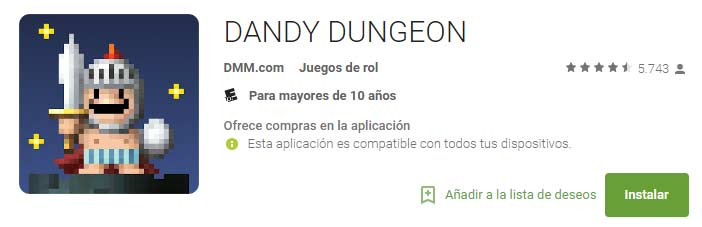 dandy dungeon