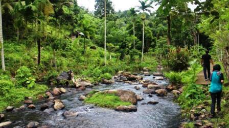 Pesona Tersembunyi Di Wisata Alam Air Terjun Pria Laot, Sabang
