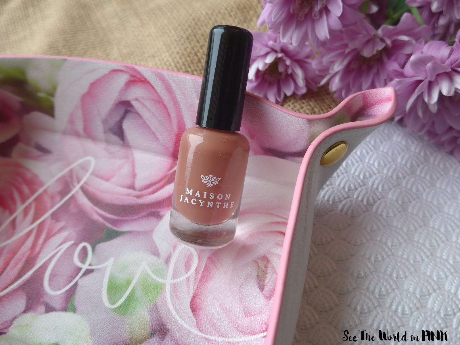 Manicure Tuesday - Maison Jacynthe Nail Polish in Amalfi