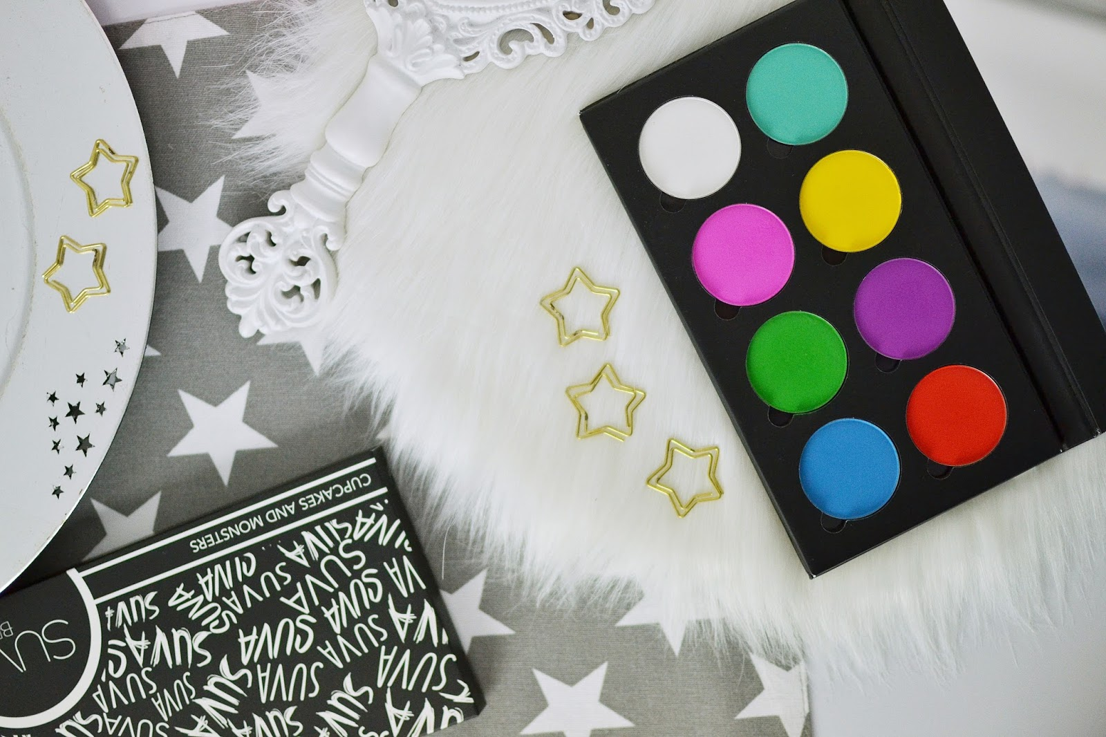 SUVA BEAUTY CUPCAKES AND MONSTERS PALETTE