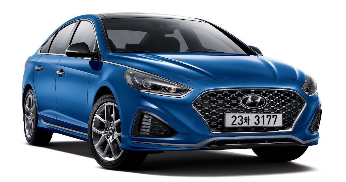 Hyundai tenta melhorar o Sonata 2018 com um facelift