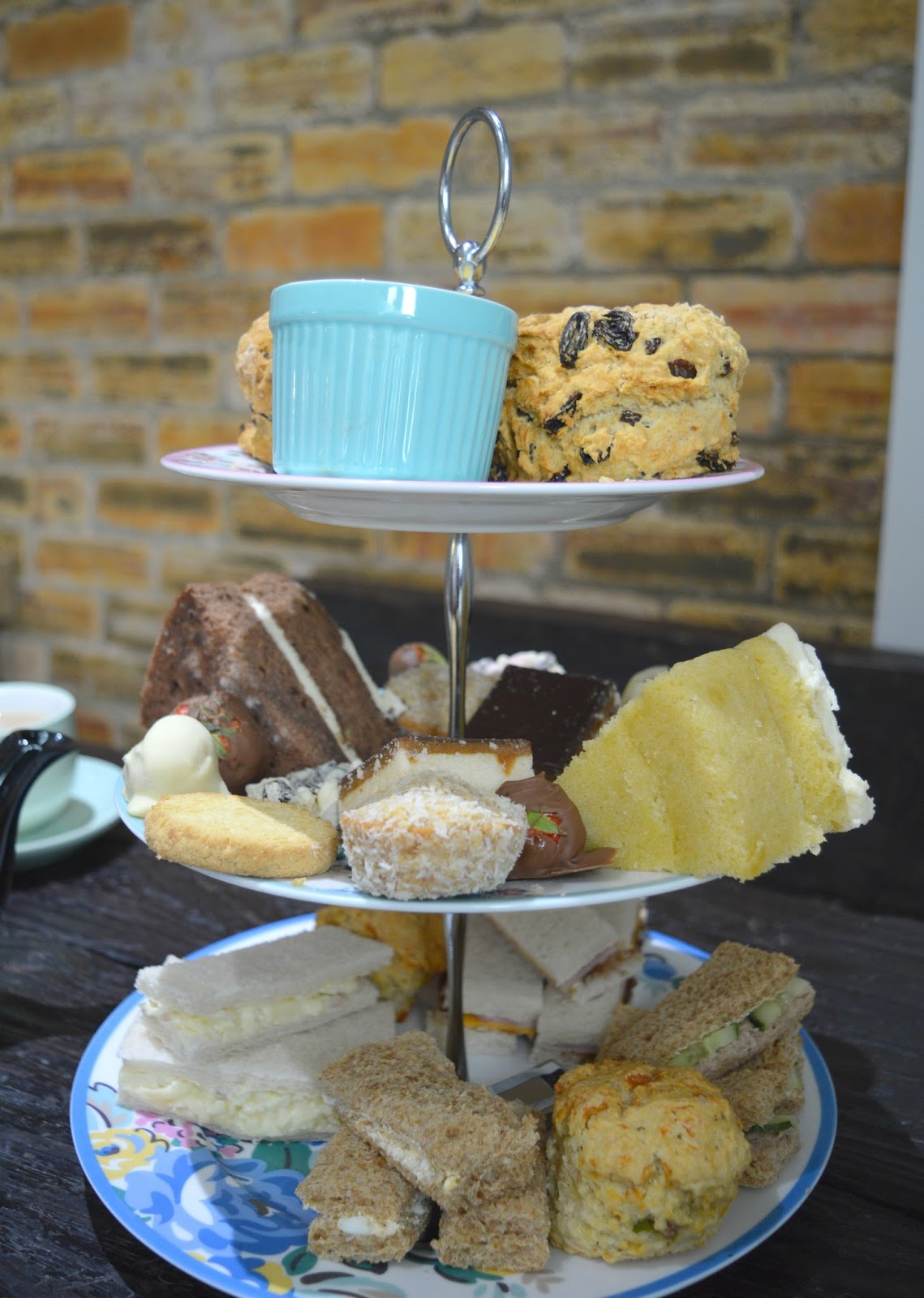 Afternoon Tea at the Joinery Workshop and Tearoom, Burnopfield