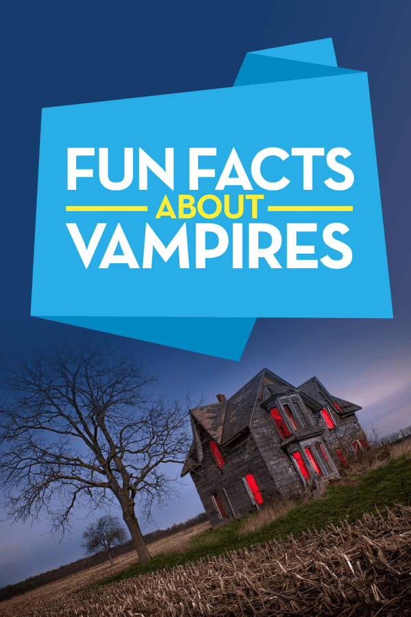 fun facts about vampires