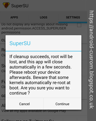 How to unroot ASUS Memopad FHD 10 LTE using SuperSu app
