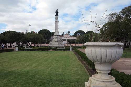 Jardim Afonso Albuquerque, Belem, Lisbon.