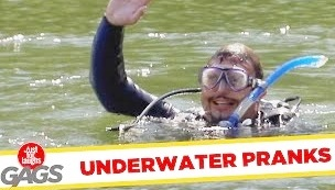 Funny Video – Underwater Pranks – Best of Just For Laughs Gags