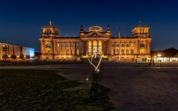 Wallpaper: Architecture of Reichstag building
