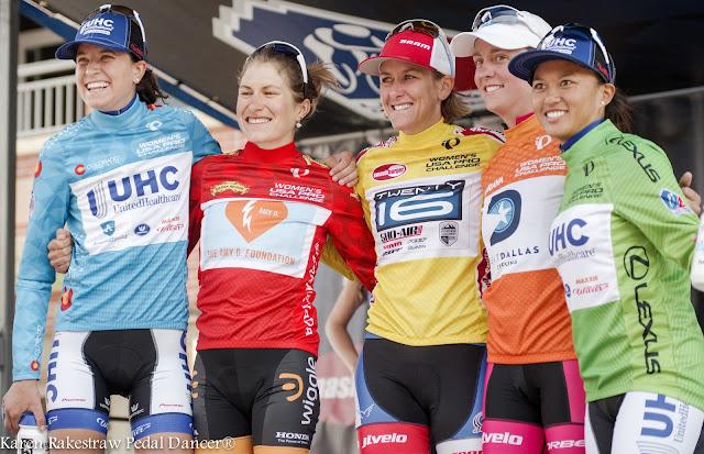 Women jersey winners 2015 USA Pro Challenge