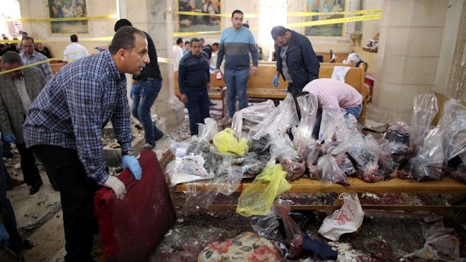 Bombings at Egyptian Coptic churches kill 36, injure more than 100