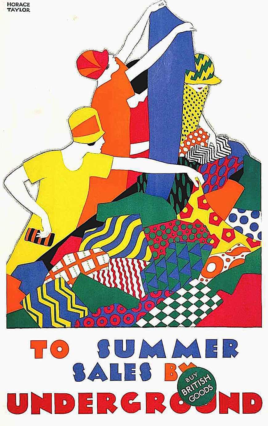 Horace Taylor poster art 1926
