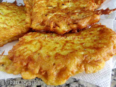 Snitele cu cartofi in crusta (imaginea de la sfarsitul retetei)