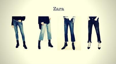 Calças Jeans Femininas da Zara