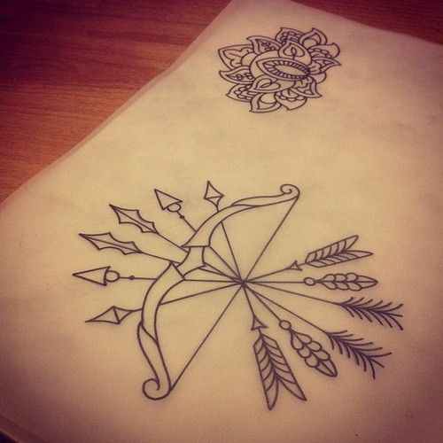 Arco Flecha Tattoos