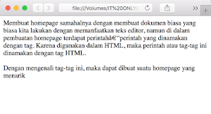 Membuat Baris Dengan HTML