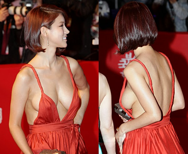 Oh In Hye 오인혜 Hot Red Carpet Dress Photos 13