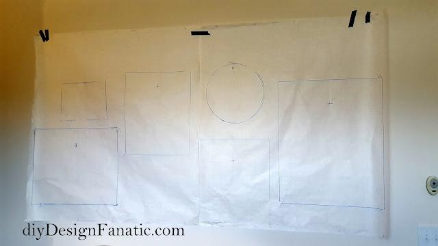 gallery wall, farmhouse style, cottage, office, diy, diyDesignFanatic.com