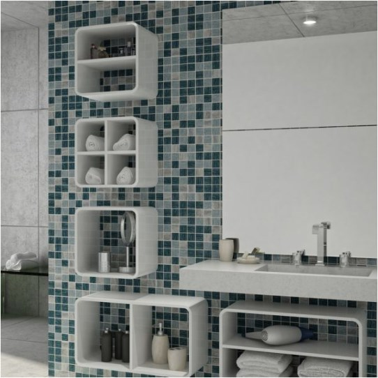 Niche For Bathroom Designs: Decorated Environments