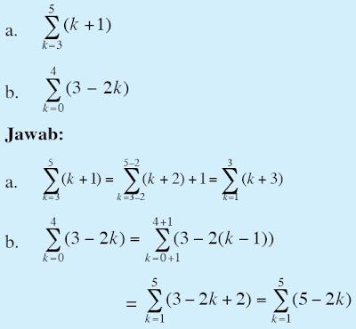 Contoh Soal Barisan Dan Deret Aritmatika Geometri Pengertian Rumus Sifat Sifat Notasi Sigma