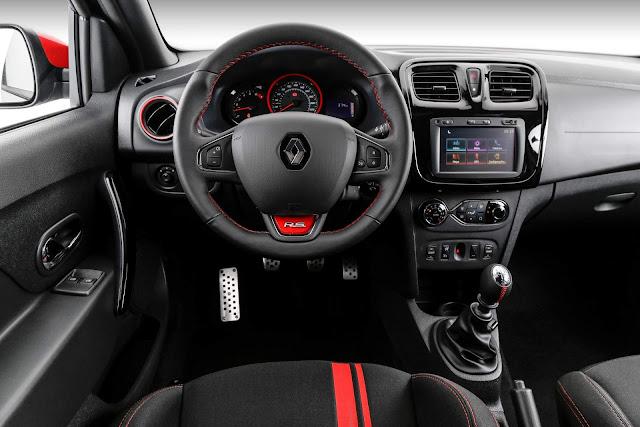 Novo Renault Sandero RS 2018