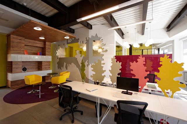 Tingkatkan Produktivitas Bekerja Dengan Mengubah Desain Interior Kantor