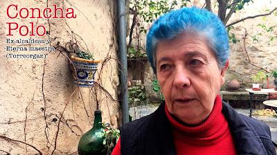 Concha Polo. Ex alcaldesa y eterna maestra