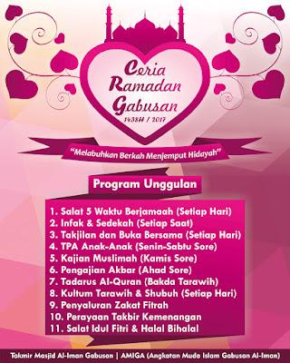 Ceria Ramadan Gabusan 1438H / 2017 www.guntara.com