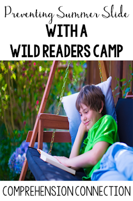 Looking for a solution to the summer slide dilemma? Check out this post on Comprehension Connection about how Carla's school tackled the problem with Wild Readers Camp, a fun learning opportunity for the primary grades.