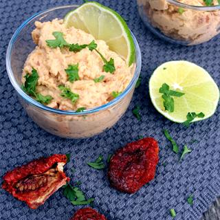 Oppskrift Beste Hummus Soltørket Tomat Hjemmelaget Sunn