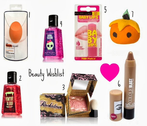 Payday Beauty Wishlist!