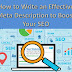 How to Write an Effective Meta Description to Boost Your SEO