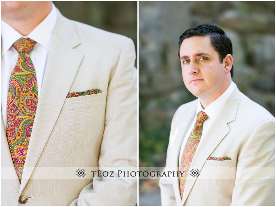 Maryland Zoo Wedding Baltimore groom