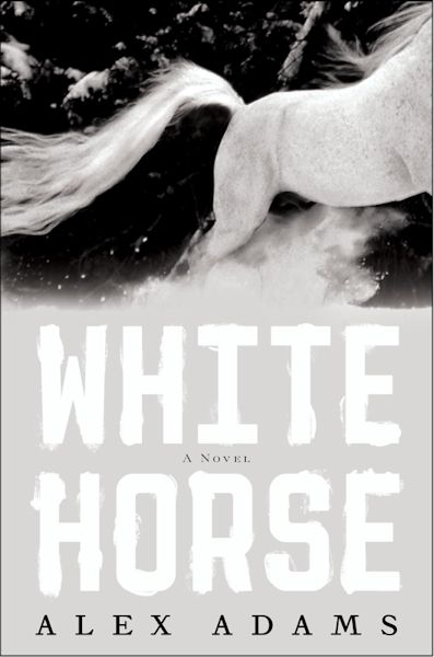 Relase Day Review - White Horse by Alex Adams - 4 1/2  Qwills