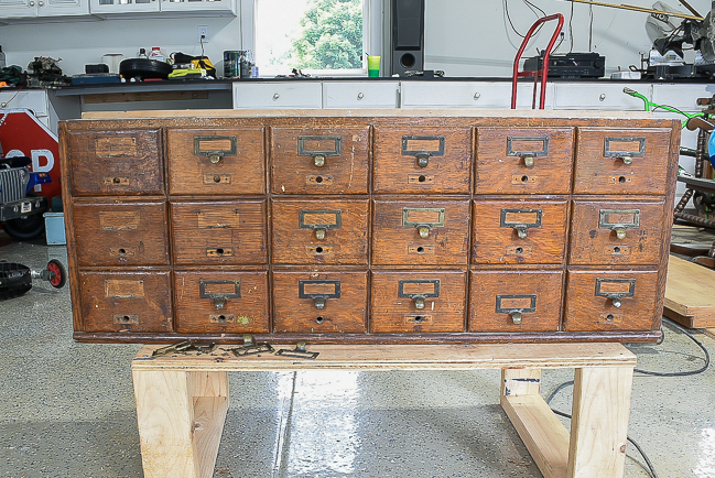 removing hardware from card catalog