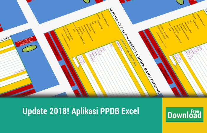 Aplikasi PPDB Excel