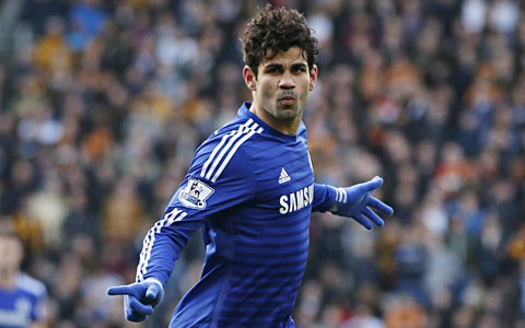 Diego Costa của Chelsea