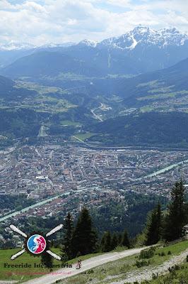 Bikebergsteigen Innsbruck Nordkette
