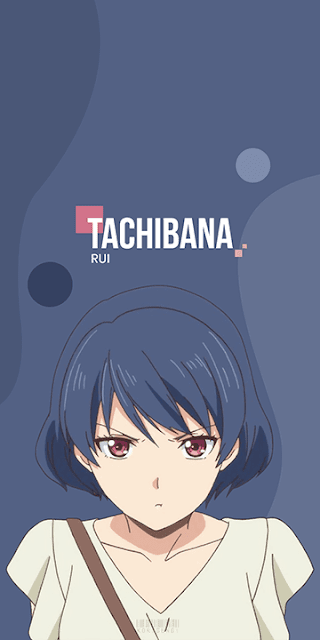 Tachibana Rui - Domestic na Kanojo Wallpaper