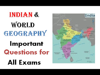 Geography Questions and Answers for Competitive Exams