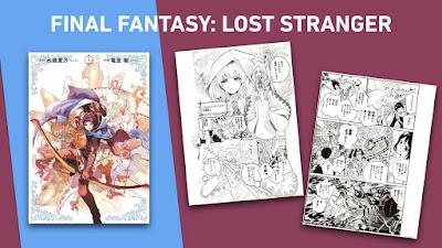 """Eventos: Norma Editorial licencia el manga """"Final Fantasy: Lost Stranger"""""""