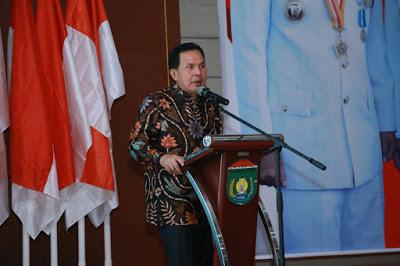 Pemkot Prabumulih Mendapat Penghargaan PIN Teratai Emas