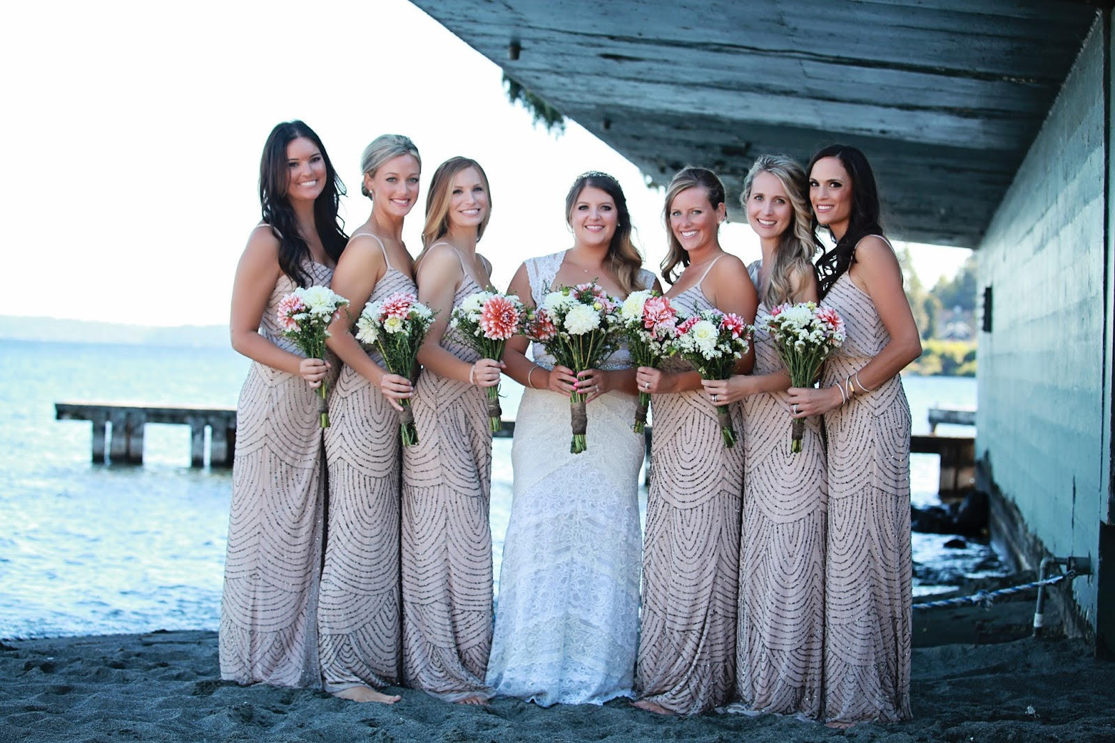 When Deciding On What I Wanted My Bridesmaids To Wear Knew That Didn T Want The Typical Bridesmaid Dress Something Non Traditional