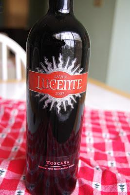 Benito's Wine Reviews: 2007 Luce della Vite Lucente