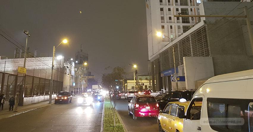 Fuerte sismo de magnitud 4.5 remeció esta noche Lima y el Callao. No hay Alerta de Tsunami