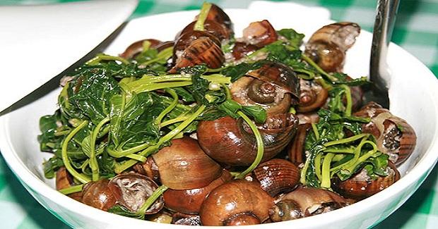 Ginataang Kuhol (Snail) Recipe